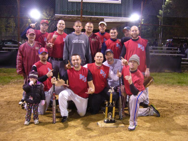 2011 Pinegrove Fall League Champions!